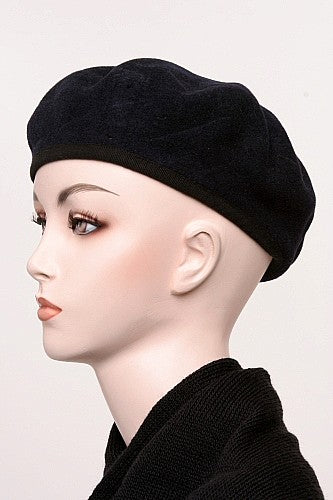 Vintage British Issue Beret with Nylon Trim - England