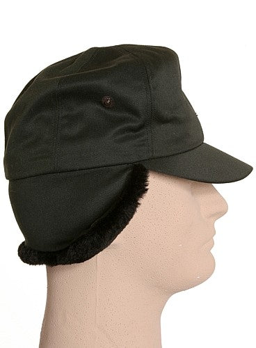 Vintage Canadian Military Winter Cap with Flaps