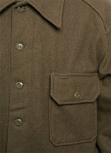 "O.D. Wool ""Jack"" Field Shirt - U.S. Army"