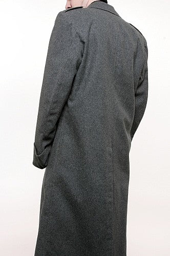 Vintage Swiss Wool Great Coat
