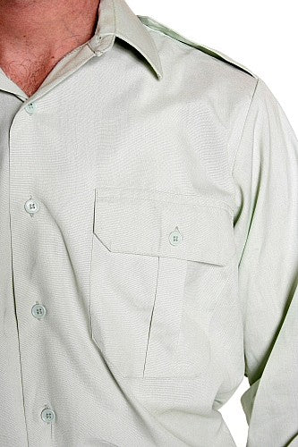 Canadian Forces LS shirt lime green