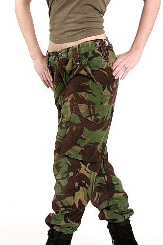 W  DPM Camoflage Commando Pants
