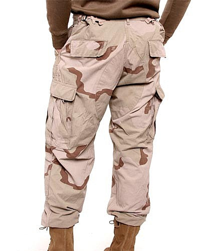 Tri-Color BDU Combat Pants - USA - Vintage
