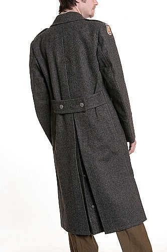 Vintage Norwegian Wool Great Coat