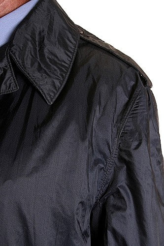 Nylon Raincoat Mens