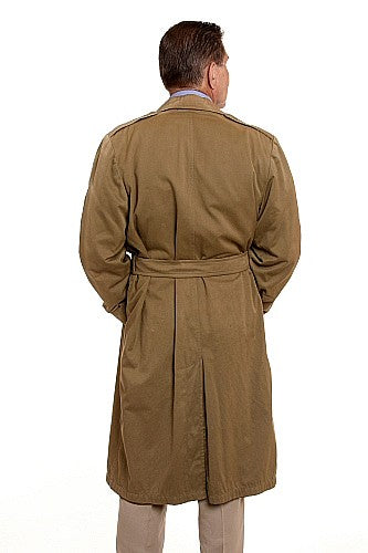 Vintage 1960's Men's Canadian Forces Gabardine Raincoat