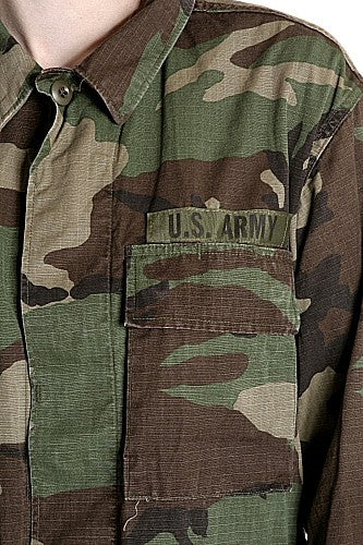 W  Woodland Combat Jacket US