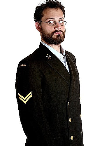 Vintage Canadian Naval Dress Jacket