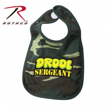 Drool Sergeant Infant Bib