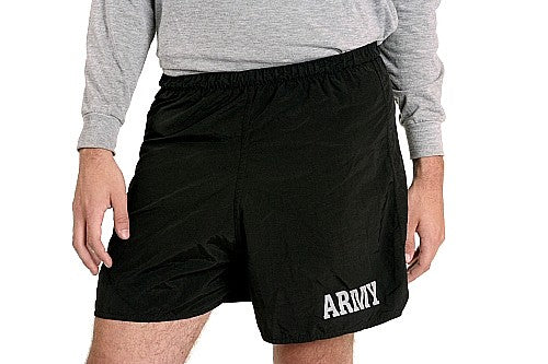 Army Nylon Swim-Jog Shorts