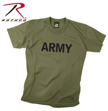 Kids Army Physical Training T-Shirt
