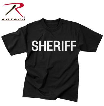 2-Sided Sheriff T-Shirt