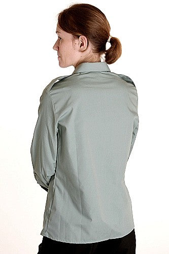 Women's Work-Dress Officers Shirt Long Sleeves - Canada