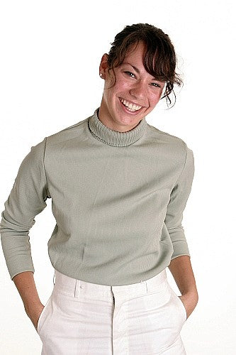 Lightweight Mock Turtleneck Sweater - Canada - Women's