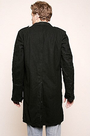 Vintage Swiss Wool Bridge Coat - Rare