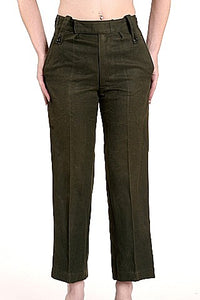 W  Worsted Wool Trousers