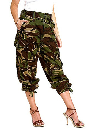 Camoflauge Tropical Combat Pants