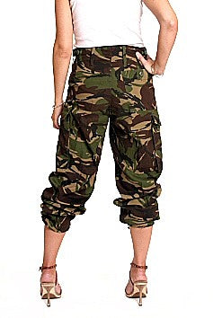 Camouflage Tropical Combat Pants