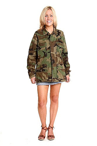 Camo Combat Jacket US Army