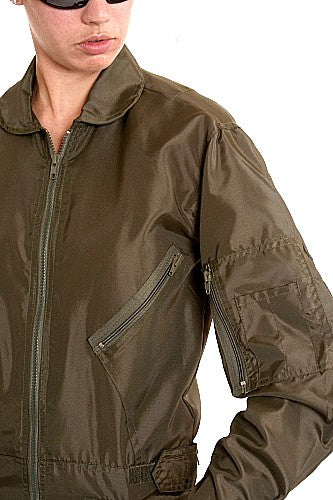 W   Military Flight Suit Nylon Olive