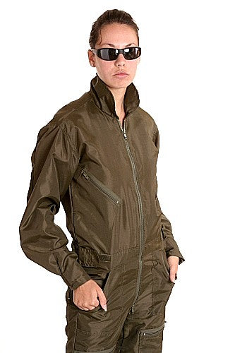 Women's Military Flight Suit, Nylon, Olive