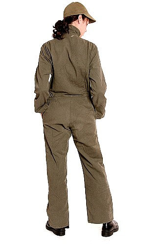 Women's Coverall, Olive Drab - France