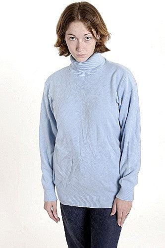 Women's Turtleneck Sweater,  AirForce Blue