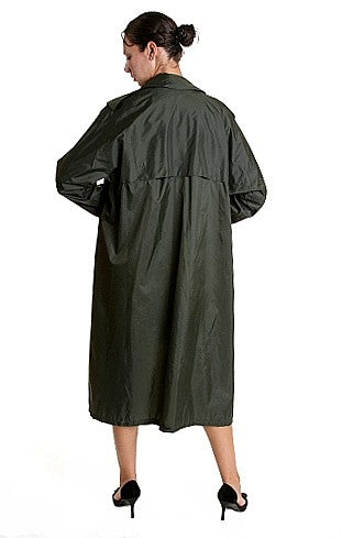 W  Raincoat Army Lightweight 3-4 Length