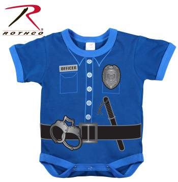Infant One Piece / Police Uniform - Navy