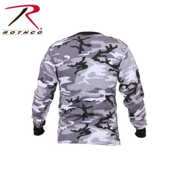 Long Sleeve Camo T-Shirt