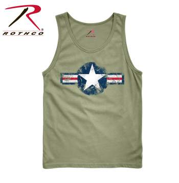 Vintage Style Air Corps Tank Top