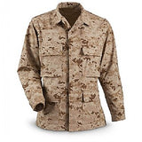 WAR ARMOR RIPSTOP BDU JACKET - DESERT DIGITAL