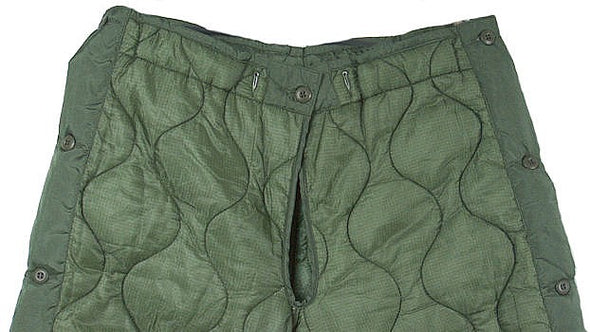 Military Quilted Pant Liner - USA -Vintage
