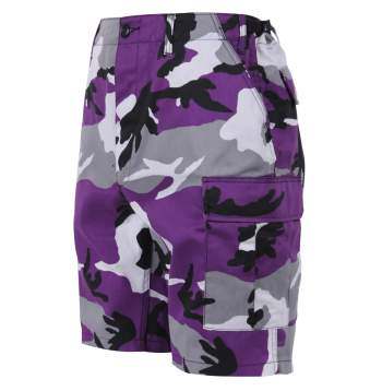Colored Camo BDU Shorts