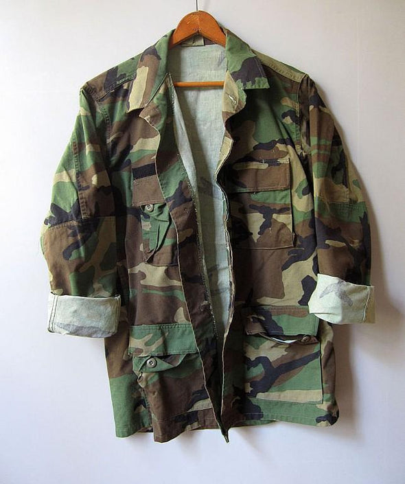 Women's Vintage US Army Twill BDU Shirt/Jacket
