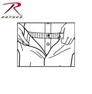 Hero's Pride Shirt Tailor Rubber Belt