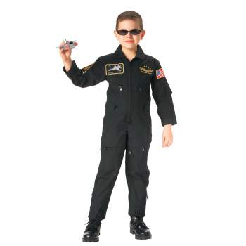 Kid's Flight Coverall With Patches
