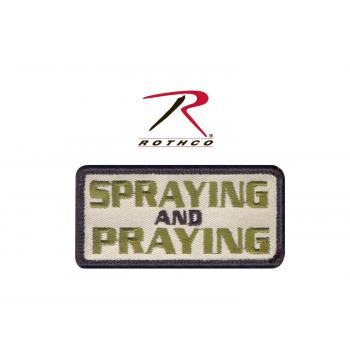 Spraying and Praying Morale Patch