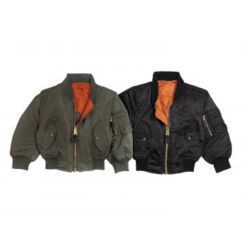Kids MA-1 Flight Jackets
