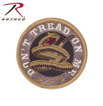 Don't Tread On Me Round Morale Patch
