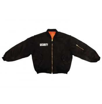 MA-1 Flight Jacket With Security Print