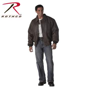 Classic A-2 Leather Flight Jacket