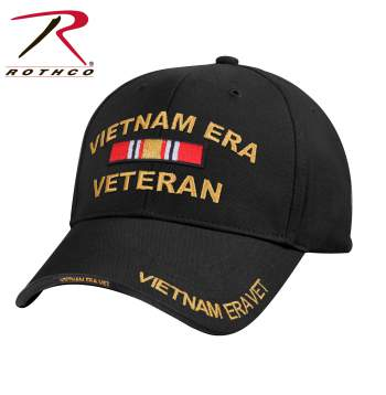 Deluxe Low Profile Vietnam Veteran Era Cap