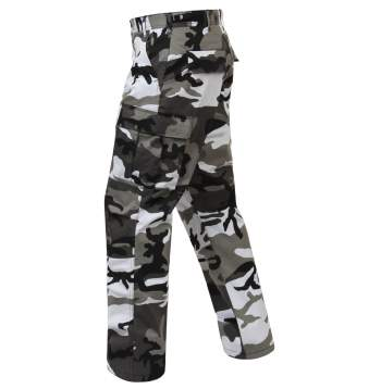 Color Camo Tactical BDU Pants