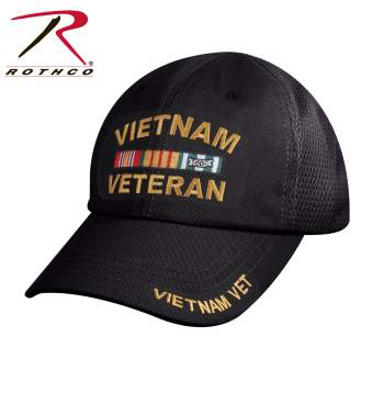 Vietnam Veteran Tactical Mesh Back Cap