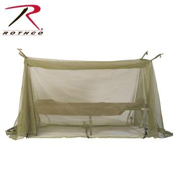 Genuine GI OD Mosquito Net - New