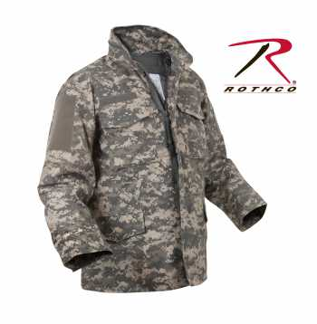 Digital Camo M-65 Field Jacket