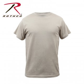 Solid Color 100% Cotton T-Shirt
