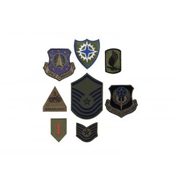 Subdued Military Assorted Military Patches