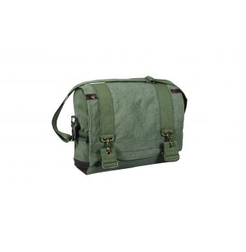 Vintage Style Canvas B-15 Pilot Messenger Bag